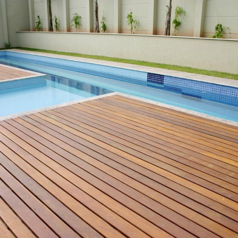 Deck de madeira valor