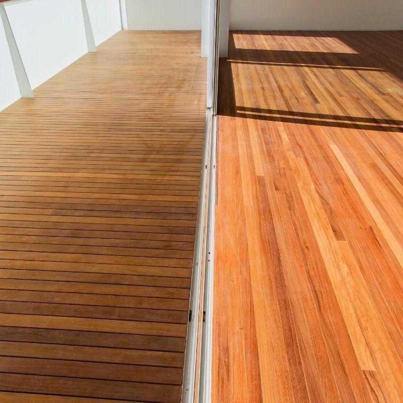Orçamento deck de madeira