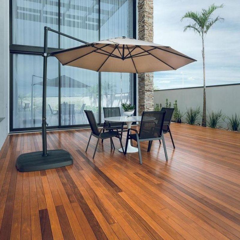 Preço deck de madeira m2