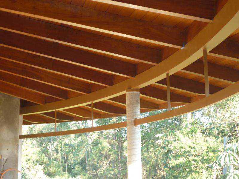 Telhas de madeira