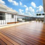 Deck de madeira