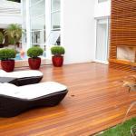 Fábrica de deck de madeira